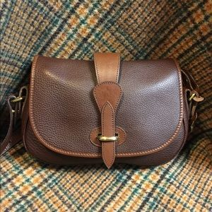 Sale💥 Dooney Brown Saddle Bag